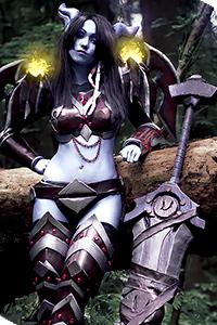 Draenei Warrior from World of Warcraft