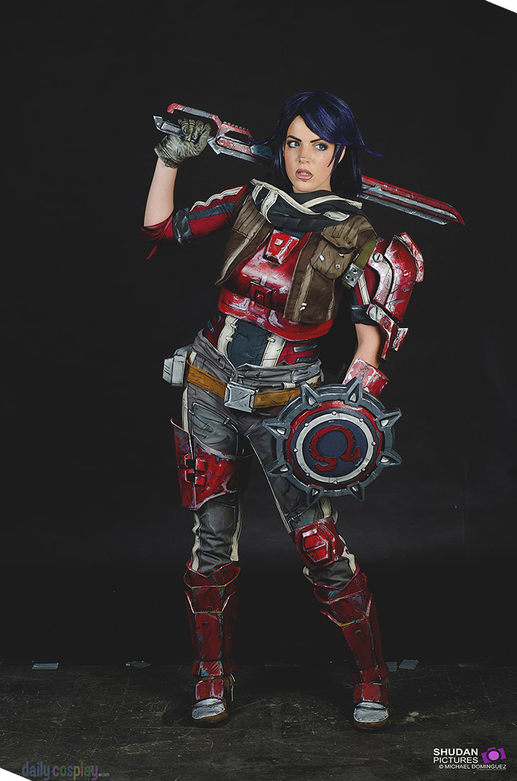 Athena from Borderlands: The Pre-Sequel