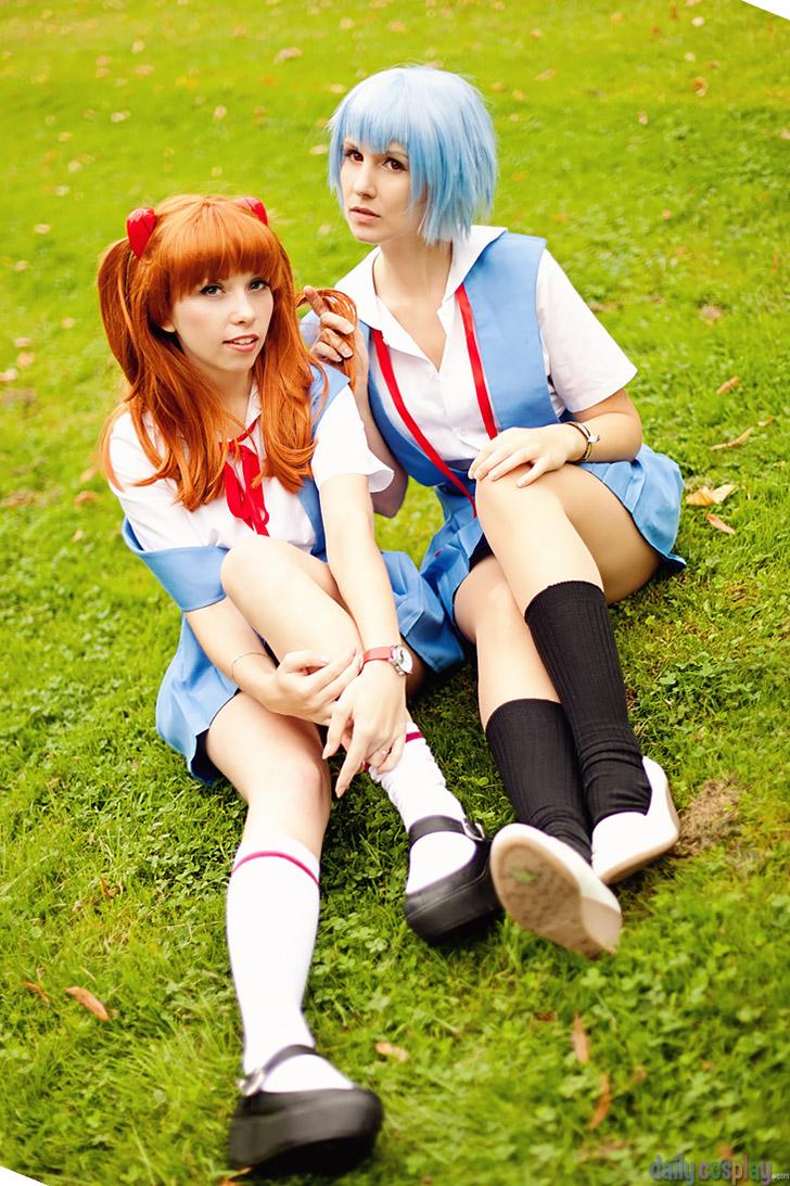 Asuka & Rei from Neon Genesis Evangelion