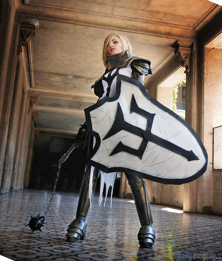 Crusader from Diablo III