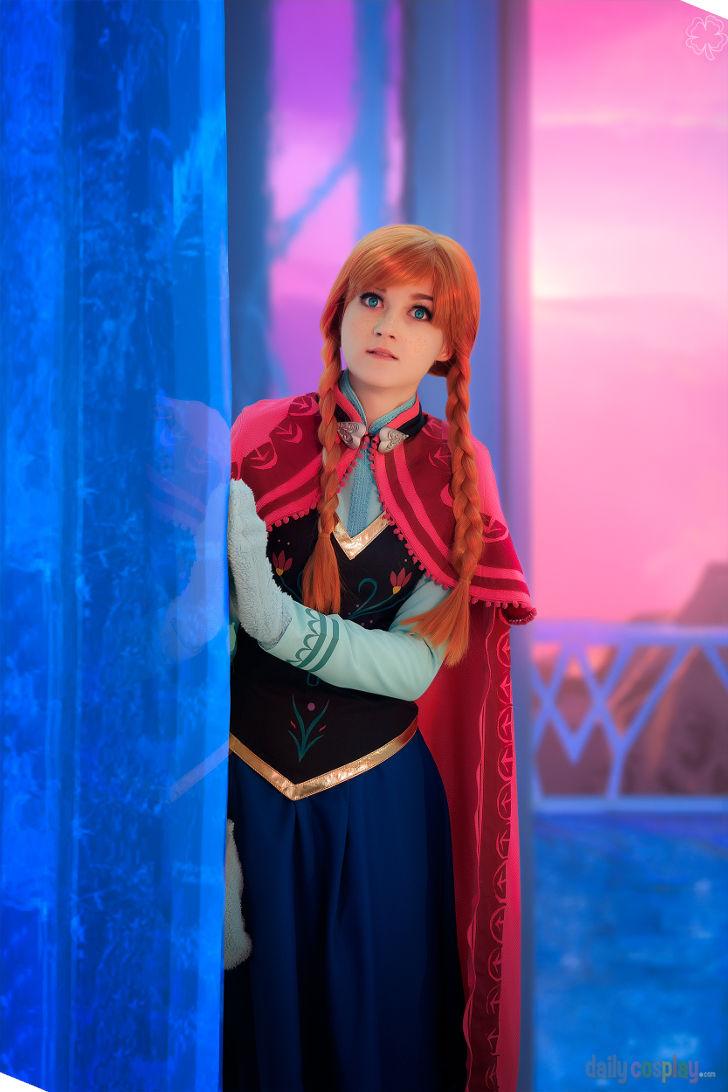 Princess Anna from Disney's Frozen