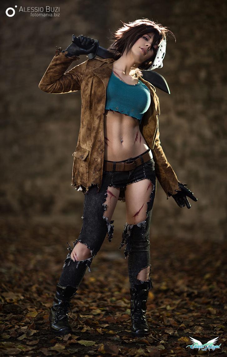 Jason (Shunya Yamashita female version) from Freddy vs Jason