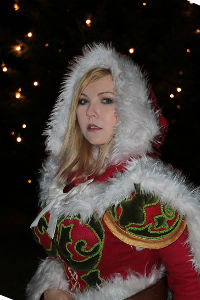 Winter Veil Jaina Proudmoore from Heroes of the Storm