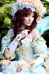 Princess White Rose from SaGa Frontier (Sakizo's artbook version)