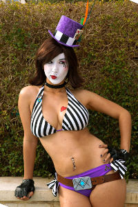 Beach Moxxi from Borderlands 2