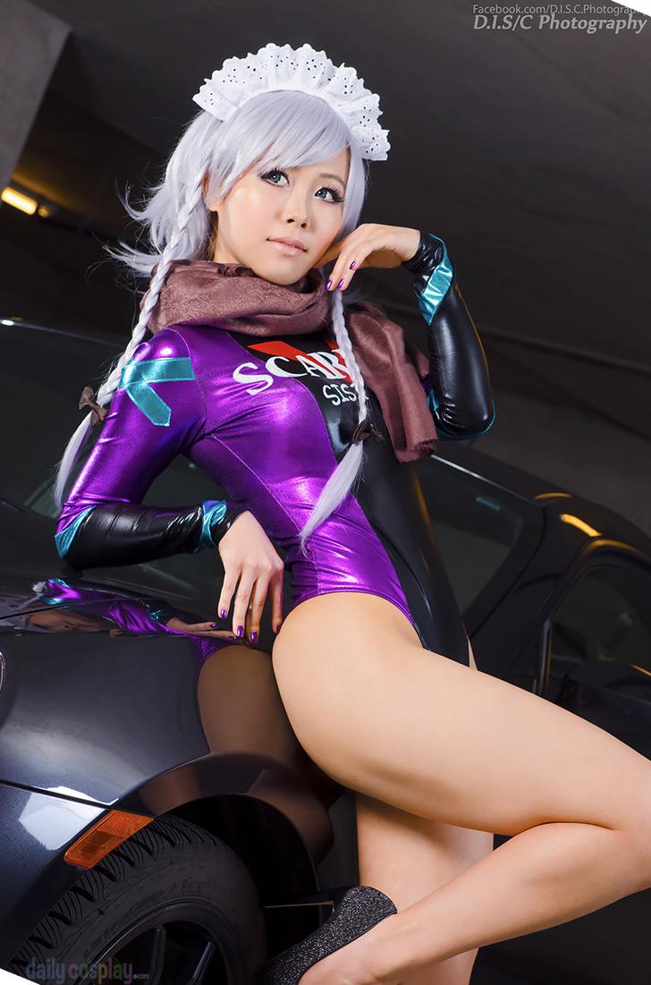 Sakuya Izayoi from Touhou Project