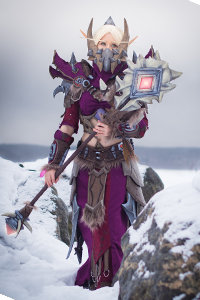 Blood Elf Warlock from World of Warcraft
