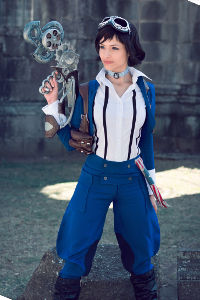 Skydiver Elizabeth from Bioshock: Infinite