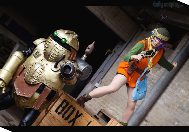 Lucca & Robo from Chrono Trigger