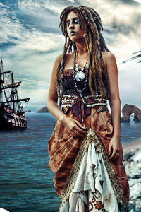 Calypso / Tia Dalma from Pirates of the Caribbean