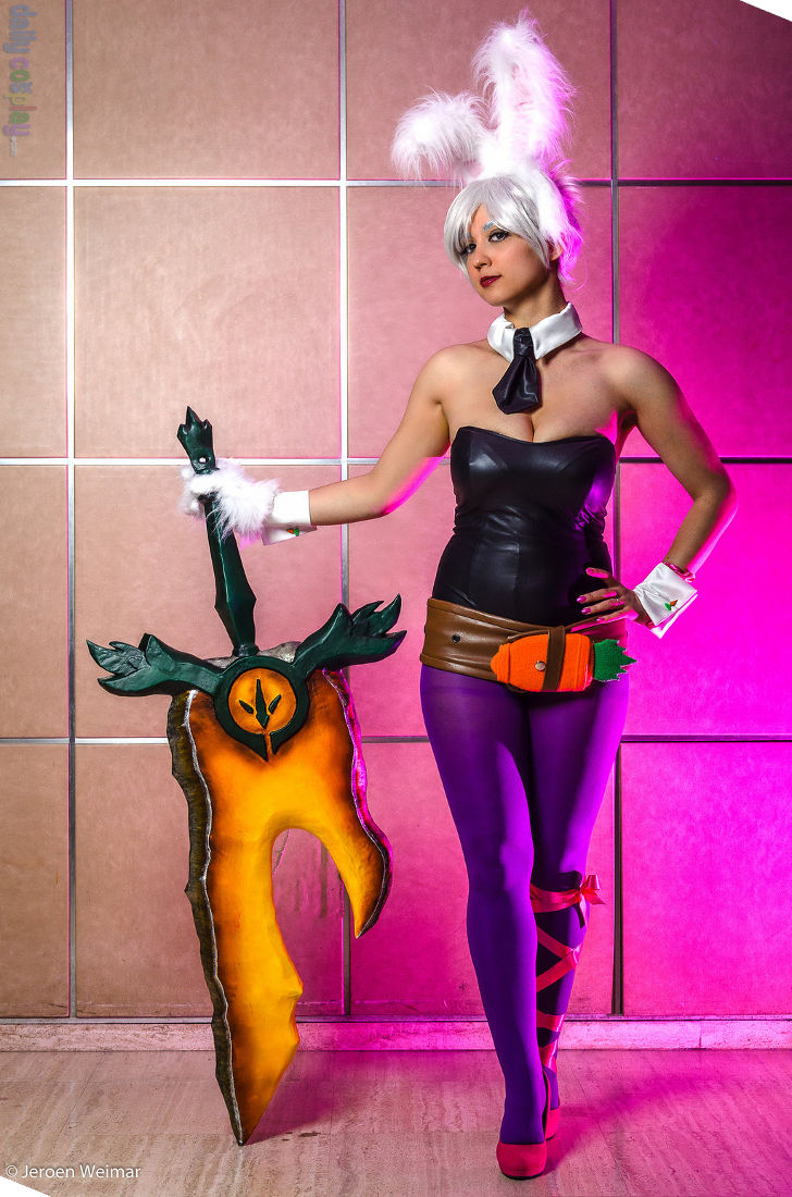 Battle Bunny Riven from League of Legends