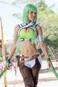 Emerald Sustrai from RWBY