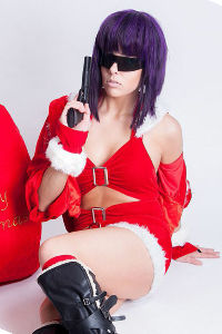 Christmas Kusanagi from Ghost in the Shell