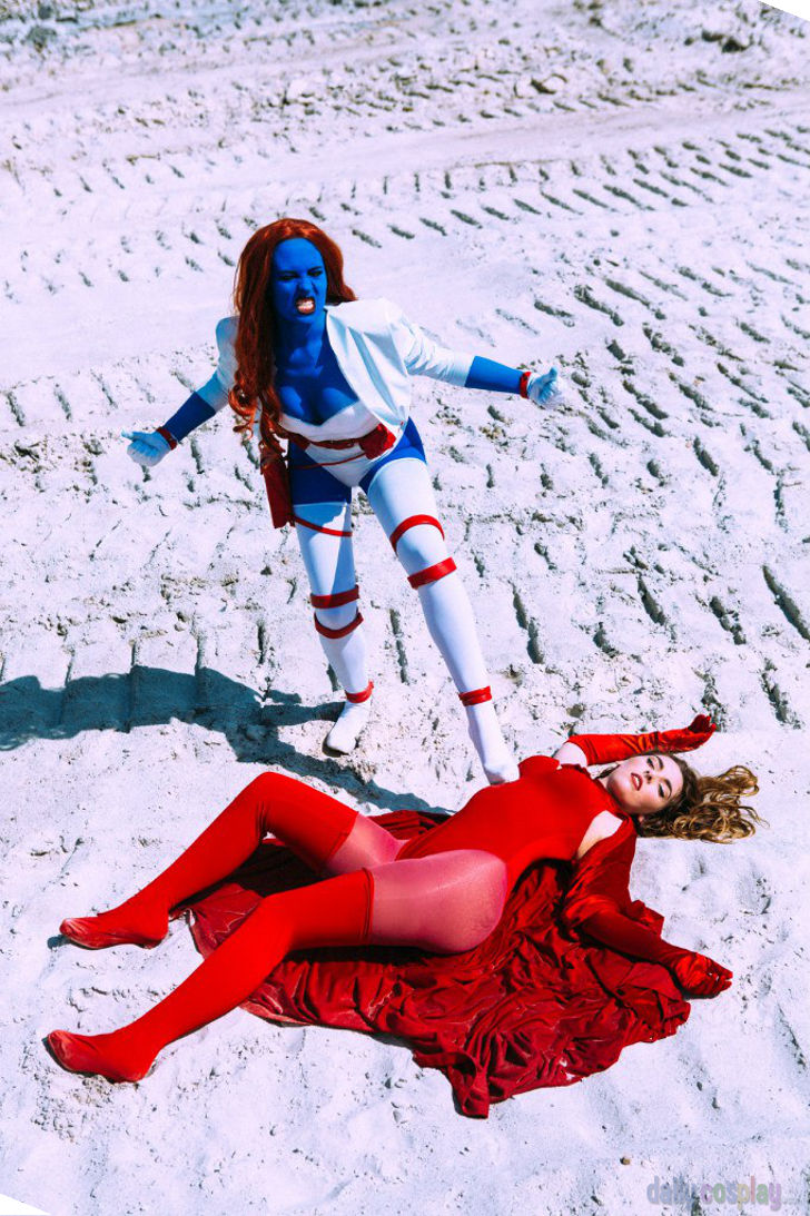 Mystique & Scarlet Witch from Marvel Comics