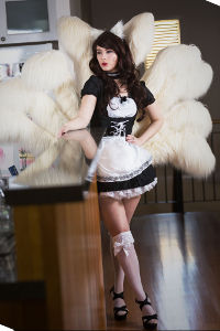 French Maid Ahri from League of Legends