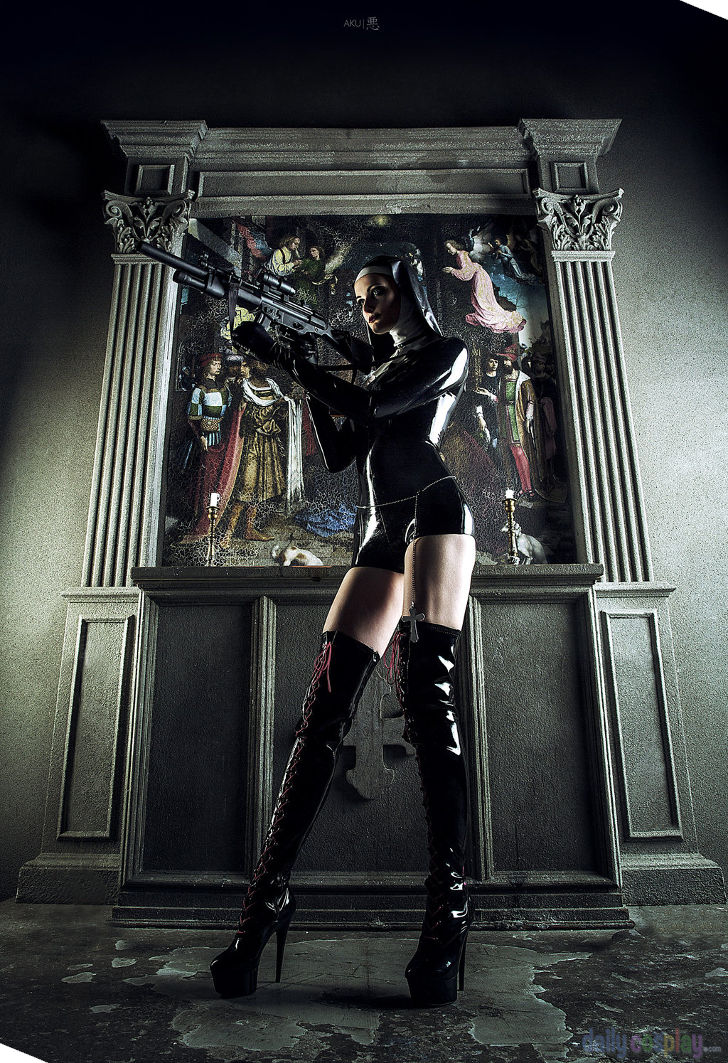 Saint from Hitman: Absolution