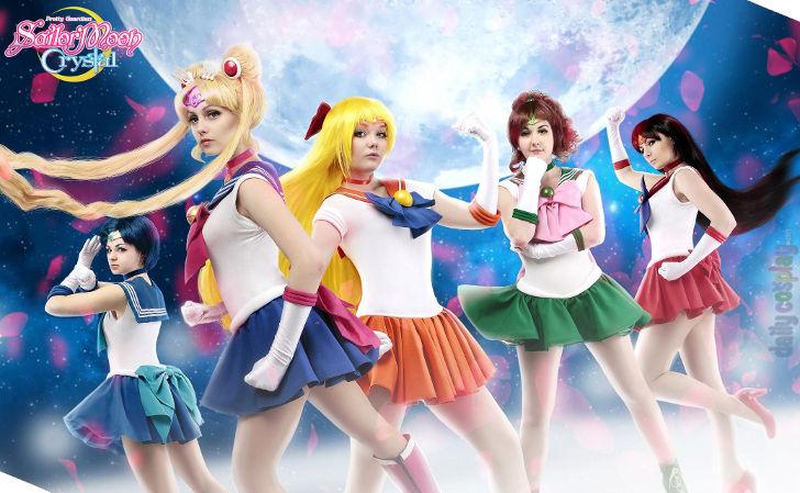 Sailor Senshi from Sailor Moon Crystal