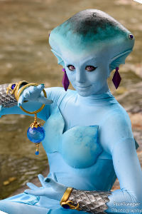 Princess Ruto from Hyrule Warriors
