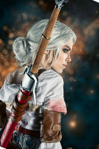 Cirilla from The Witcher 3