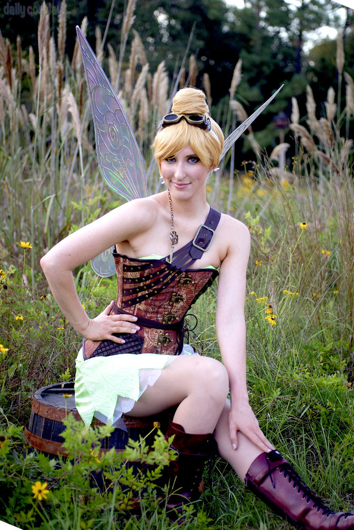 Steampunk Tinkerbell from Secret of the Wings