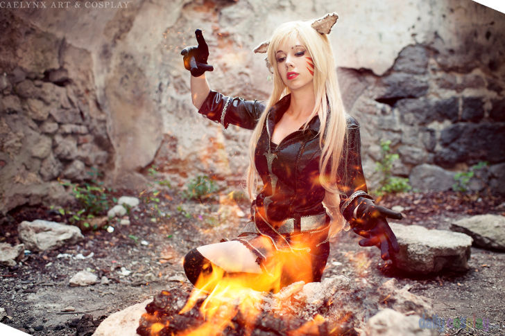 Mi'qote - Black Mage from Final Fantasy XIV
