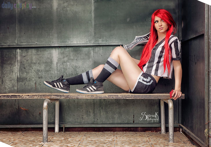 Red Card Katarina from League of Legends