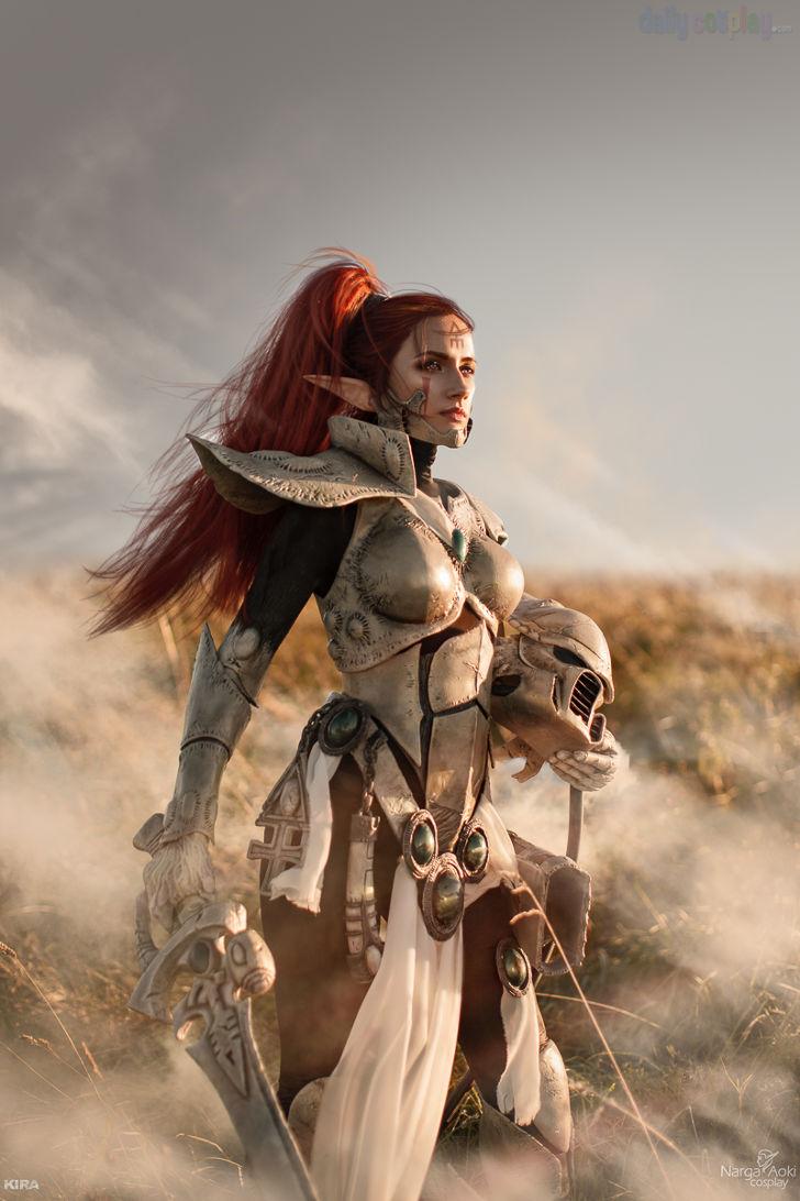 Eldar Howling Banshee from Warhammer 40k Dawn of War III