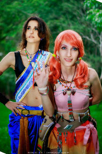 Fang & Vanille from Final Fantasy XIII