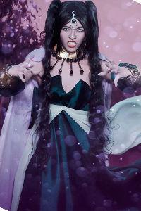 Nehelenia from Sailor Moon Stars