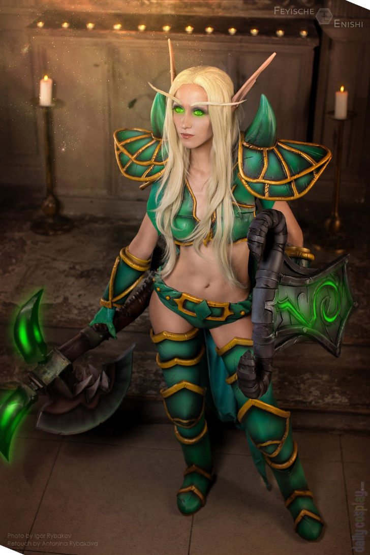 Blood Elf Paladin from World of Warcraft