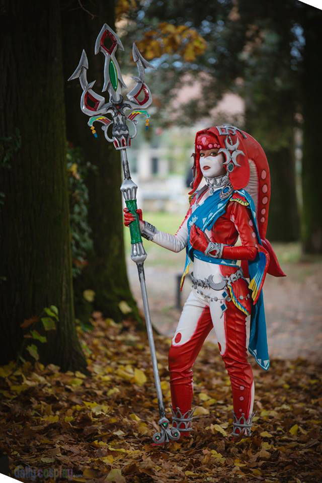 Mipha from Zelda: Breath of the Wild