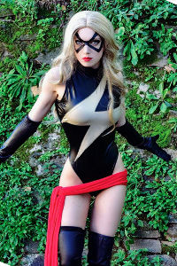 Ms Marvel from Marvel Comics
