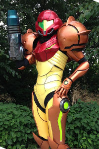 Samus from Metroid