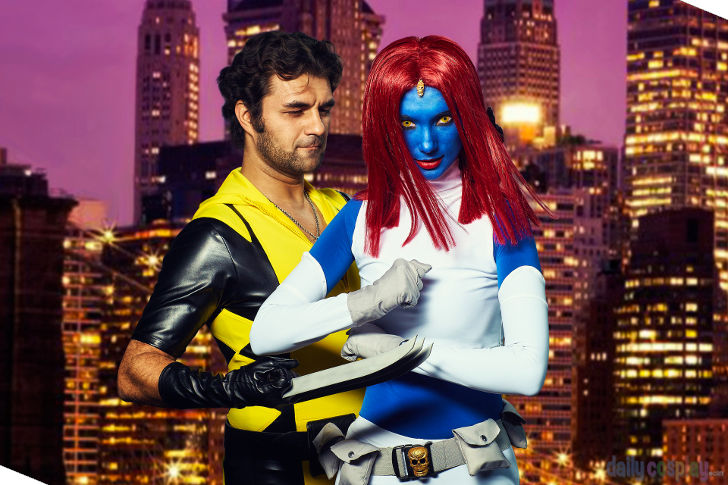 Mystique & Wolverine from Wolverine and the X-Men