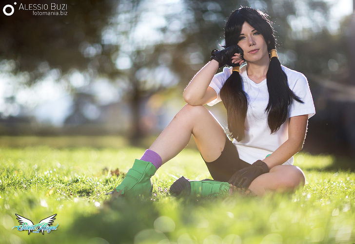 Videl from Dragon Ball