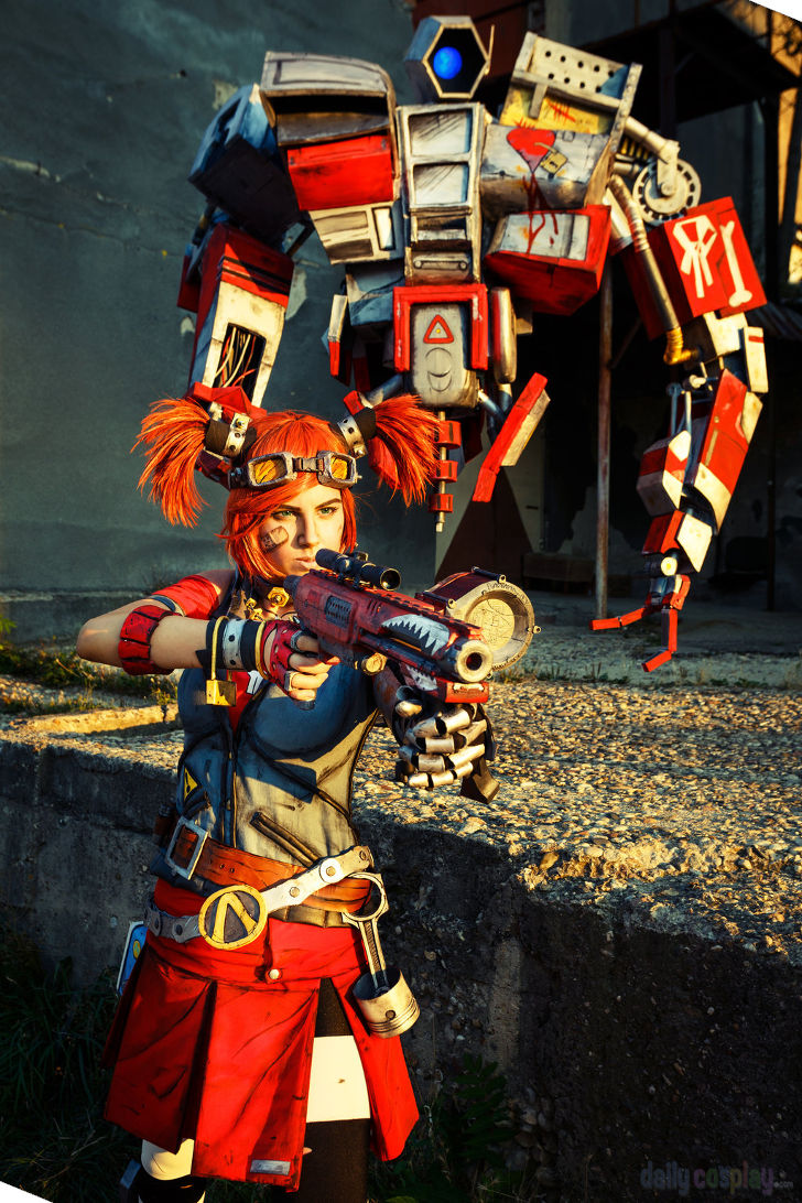 Gaige from Borderlands 2