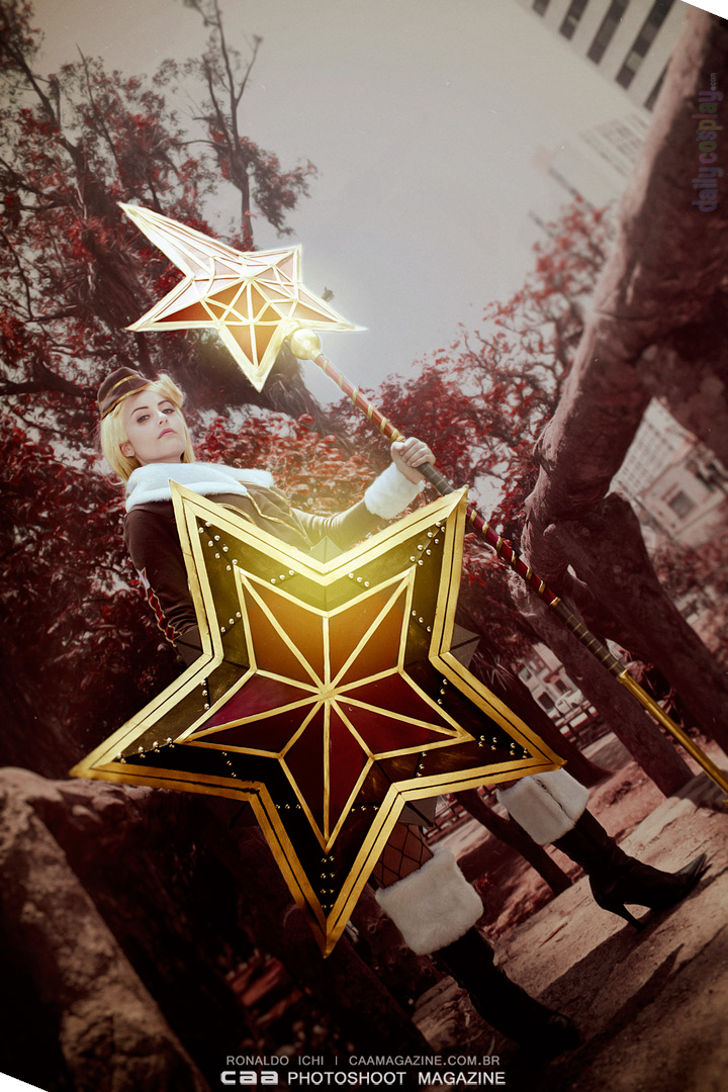 Red Star Athena from SMITE