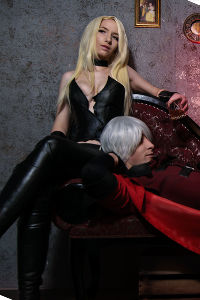 Trish & Dante from Devil May Cry