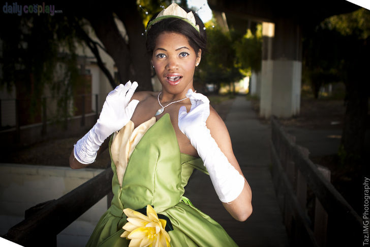 Princess Tiana from The Princess and the Frog