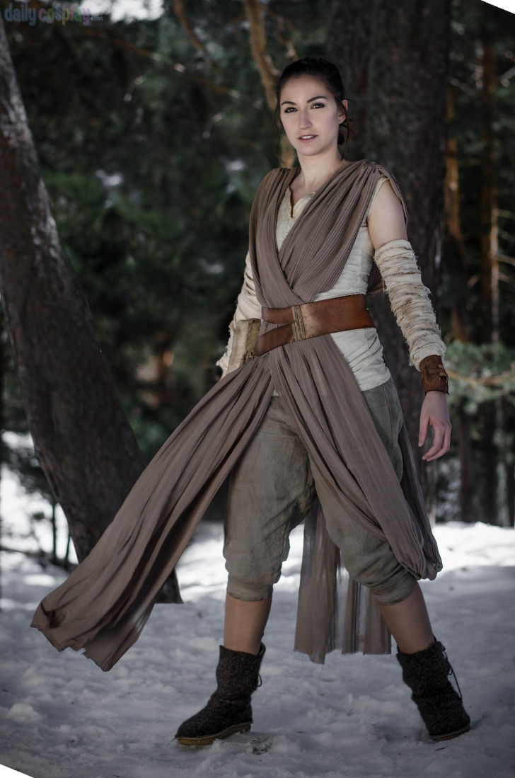 Rey from Star Wars: The Force Awakens