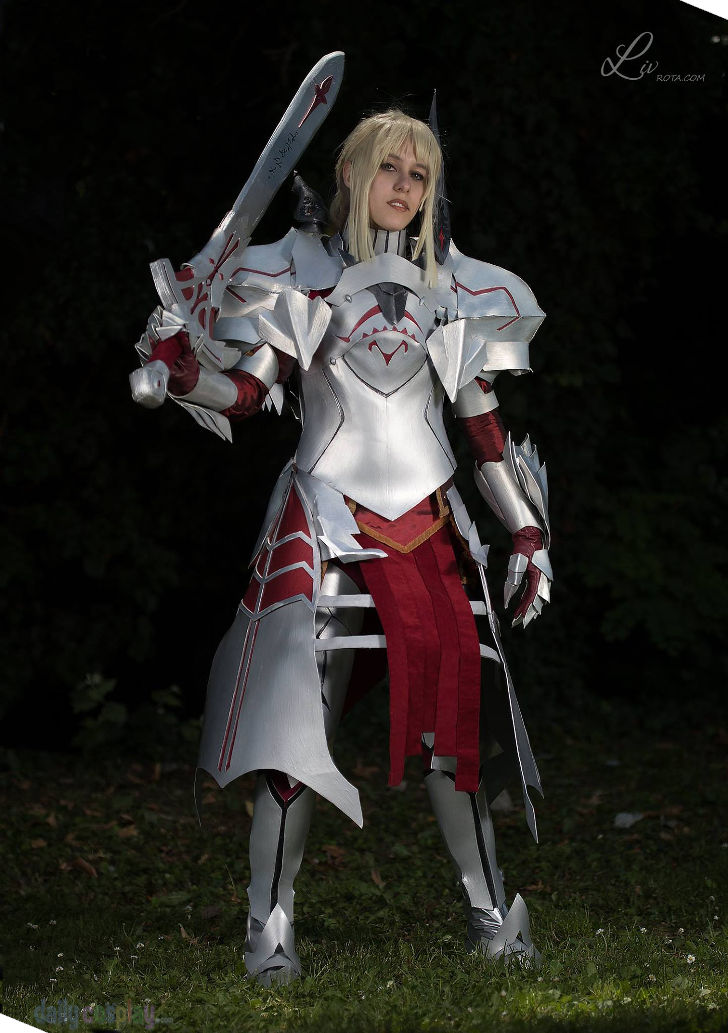 Mordred from Fate/Apocrypha and Grand Order