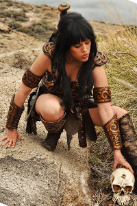 Xena from Xena: The Warrior Princess