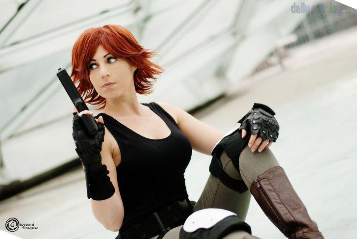 Meryl Silverburgh from Metal Gear Solid