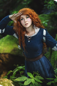 Merida from Brave