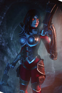 Demon Hunter Valla from Heroes of the Storm