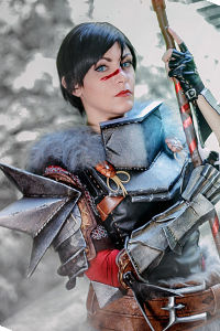 Lady Hawke from Dragon Age II
