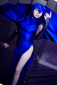 Raven from The Teen Titans