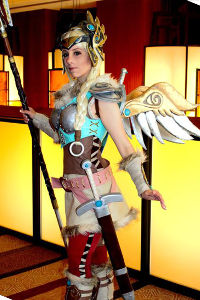 Valkyrie Mercy from Overwatch