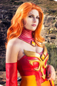 Lina from DotA2