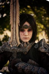 Dragonborn from Elder Scrolls V: Skyrim